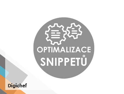 Case study – optimalizace snippetů ↑ CTR ↑