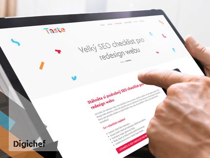 Velký SEO checklist pro redesign webu je tu!